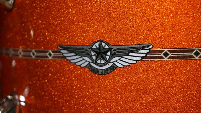 Tama Star in Custom Orange Sparkle Finish