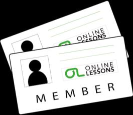 OnlineLessons.tv Mitgliedschaft