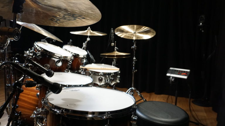 Drumset Side View