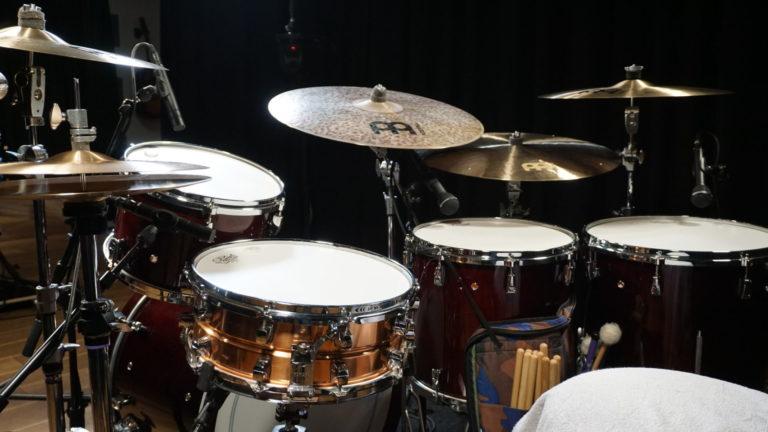 Drum Set Side View